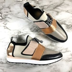 Mossimo Gold Neutral Slip On Sneakers